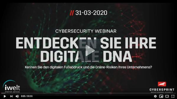 Video-Aufzeichnung des Cybersecurity Webinars verfügbar