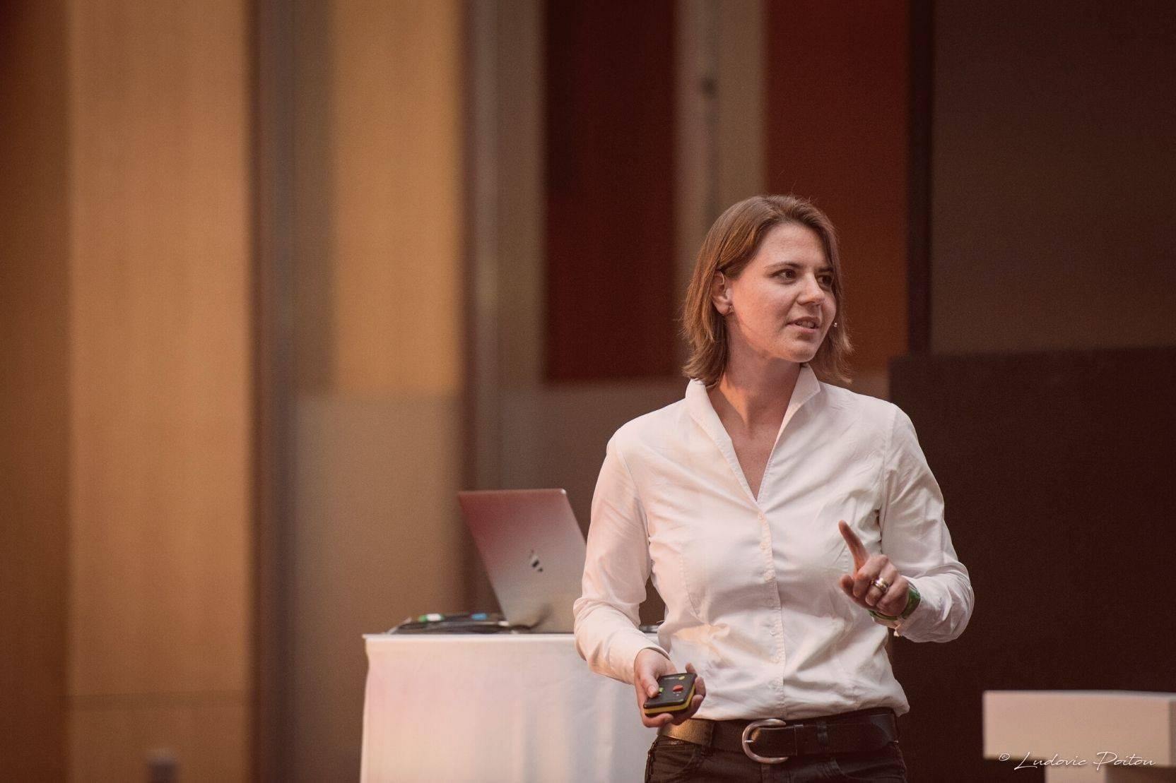 Geschäftsführerin Sarah Wolff